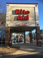 Rite Aid - Manassas, VA: Day View (batterymillx) Tags: riteaid rite aid manassas virginia va pharmacy retail store shop exterior outside entrance gnc
