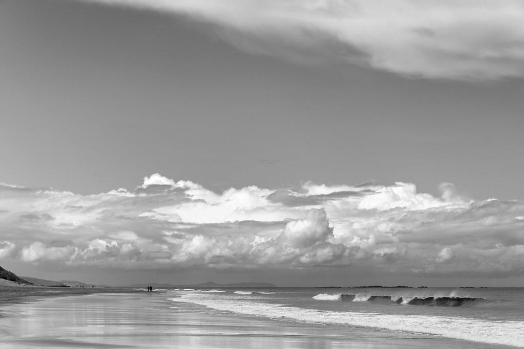 Whiterocks Beach - Portrush, Northern Ireland, UK - August 17, 2017
