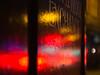 exchange (Cosimo Matteini) Tags: cosimomatteini ep5 olympus pen m43 london mzuiko45mmf18 spitalfields street hoarding light reflection evening colours red exchange