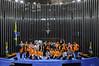 Jovem Senador 2017 (Senado Federal) Tags: eleição jovemsenador2017 mesajovem plenário posse programasenadojovembrasileiro senadoreuníciooliveirapmdbce senadorpaulopaimptrs senadorrobertorochapsdbma senadorromerojucápmdbrr sessãoespecial urna votação brasília df brasil bra