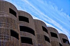 Urban moaïs.... (Isa-belle33) Tags: architecture urban urbain city ville wall mur windows fenêtres sky ciel clouds nuages bois wood façade devanture fujifilm bordeaux