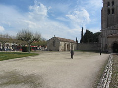 Grounds, Las Huelgas (d.kevan) Tags: spain burgos abbeys historicbuildings lashuelgas grounds churchtowers houses trees chapels