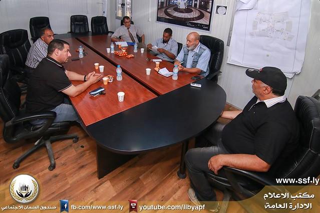 الاجتماع الأول لإدارة المخاطر ومنع الخسائر بخبراء الأمن والسلامة 16-8-2016