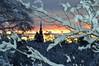 St Tuna kyrka (lena.fredin) Tags: church churchtower sunrise winter winterdalarna