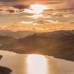 Sunset over The Trossachs thumbnail