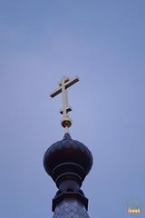 36. Установка крестов на храм святых мучениц 15.12.2014