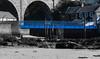Blue Bridge (slater5551) Tags: blackandwhite boat bridge fife largo