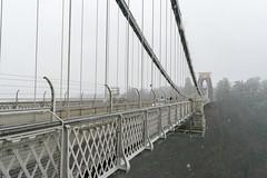 DSC_1528 (d0mokun) Tags: bristol england unitedkingdom gb winter snow clifton suspension bridge kingdom brunel architecture