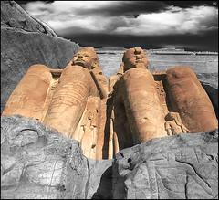 (2628) Abu Simbel (Egypt) Splash (QuimG) Tags: abusimbel egypt egipte egipto quimg quimgranell joaquimgranell splash retoc retoque retouch art architecture arquitectura
