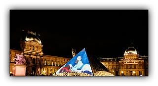 Série Pyramide du Louvre : N° 7