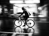 speedy delivery (dr.milker) Tags: bicycle night urban city bw blackandwhite blancoynegro noiretblanc cyclist taiwan taipei speed panning profile 台灣 台北 街拍 都市 黑白 夜晚 騎士 腳踏車 單車 自行車 鐵馬 速度 側影 street