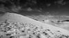 Prospettive verso Pizzo Berro (bn) (EmozionInUnClick - l'Avventuriero photographer) Tags: pizzoberro sibillini blackwhite bn montagna monterotondo neve panorama