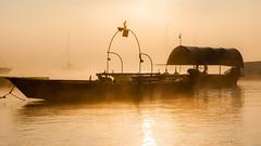 Morning fog (andreasbrink) Tags: angera autumn italy landscape fccautumn boat lake lagomaggiore fccfog