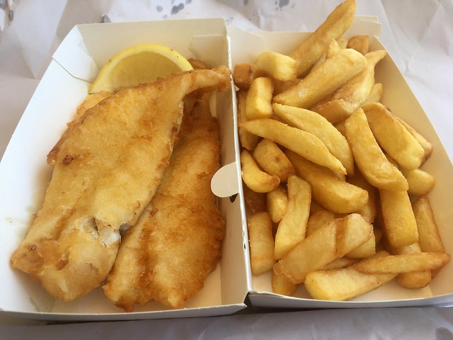 We Like Both Kinds of Food, Fish and Chips