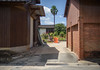 One day in the countryside. (Yasuyuki Oomagari) Tags: country countryside orange peace art street light afternoon nikon d810 zeiss distagont1435 bucket 日本 佐賀 農村 village shadow brick composition seane hapiness palm