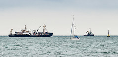 The Terschelling (philbarnes4) Tags: broadstairs thanet kent england terschelling vessel survey philbarnes dslr nikond5500 archaeology history channel yacht supportvessel