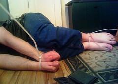 zip tie (catbleu4555) Tags: ziptie handcuffed handcuff hostage prisoner kidnapping