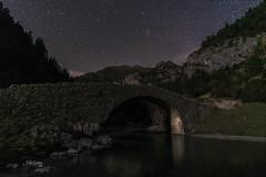 _DSC4032 (PilaReina) Tags: nature naturaleza nightphoto nocturna sky cielo stars estrellas circumpolar montaña pirineos ordesa agua río