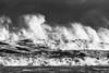 Storm Waves 5 (digiphill) Tags: 2017 coast cresswell december northeast northumberland northumberlandcoastaonb seascape seashore waves bigwaves blackandwhite monochrome silverefexpro
