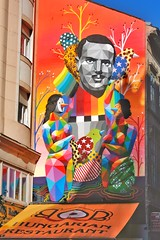 Budapest Street Art (gary8345) Tags: 2017 hungary budapest pest graffiti streetart urbanart art snapseed
