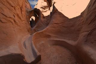 PEEK - A- BOO Canyon - Grand Staircase Escalante National Monument