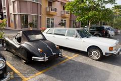 Retro cars at Langkawi island, Malaysia