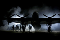 'Lancaster Heroes' (andrew_@oxford) Tags: raf east kirkby avro lancaster 1940s reenactors reenactment bomber command timeline events