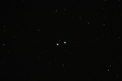 Double double star in Lyra (sparkdawg068) Tags: space stars sag orion telescope texas canon t3i eos rebel weather astrophotography astrograph sirius eqmount