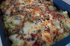 DSC06269 (Kirayuzu) Tags: auflauf kartoffelauflauf gemüseauflauf kartoffeln bohnen fisolen grünebphnen speck bacon käse essen gericht food selbstgemacht homemade