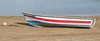 Little rowing boat on the beach Faro Portugal (CapMarcel) Tags: little rowing boat beach faro portugal red white blue