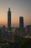 101 (reinaroundtheglobe) Tags: taipei taipei101 101 cityscape city skyline urbanlandscape urban taiwan skyscraper skyscrapers offices traveldestination nopeople sunset