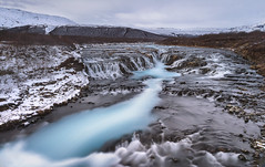 Iceland Bruarfoss (sspike@rogers.com) Tags: waterfall iceland blue steverossi landscape beautiful leefilter neutral density long exposure