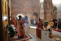 44. Первое богослужение в храме г.Святогорска 30.09.2014