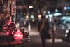 Sternschanze Christmas (mripp) Tags: art vintage retro old street strase color hamburg europe germany deutschland night nacht bokeh leica m10 summilux 50mm