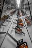 Chainsaw Chronology (ChrisMN88) Tags: fuji fujinon fujifilm fujixseries xe2 xf27 xf27mm stihl chainsaw museum orange engineering
