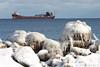 lat121417arrlkshr_rb (rburdick27) Tags: lakeshore marquette leeatregurtha ice lakesuperior scenicmichigan