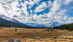 Clouds over Tuolomne Meadows (Photosuze) Tags: landscape meadows fall autumn yosemite nationalpark tuolomnemeadows sky trees california