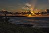 Sunrise, Poipu, Kauai. (drpeterrath) Tags: sunrise canon eos5dsr 5dsr nature landscape seascape water ocean pacific kauai hawaii shoreline clouds blue
