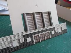 1/76 Odeon (kingsway john) Tags: kingsway card building kits 176 scale odeon cinema model oogauge miniature