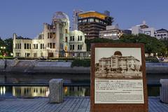 The revenant city (andyrousephotography) Tags: japan hiroshima 6thaugust1945 atomicbomb littleboy enolagay b29superfortress bomber abombdomebuilding hiroshimapeacememorialpark andyrouse canon eos 5d3 5dmkiii ef24105mmf4l