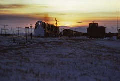 CP  Ft. McCloud, AB (larryzeutschel) Tags: cp canadian pacific railroad fm trainmasters mountains