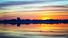 Night Fishing (Solent Poster) Tags: portchester castle portsomouth harbour seascape landscape sunset sunrise pentax k1
