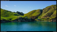 A home in the Sounds (Falcdragon) Tags: sonyzeisssonnarfe1855mmza sonya7riialpha ilce7rm2 marlborough sounds new zealand sea landscape water hills green spring beach farm house
