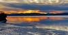 Sunset reflections via iPhone X. (LEXPIX_) Tags: iphone iphonex iphone10 ten x 10 apple cameraphone smartphone sunset sky water lake champlain adk adirondack mountains burlington vt vermont lexpix