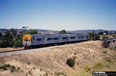 2860 ADC851 ADL801 Swan River  13 March 1982 (RailWA) Tags: westrail 1982 railwa philmelling adc851 adl801 swan river