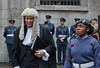 Lord Mayor's Show, Royal Courts of Justice, London, 11 Nov 2017 (chrisjohnbeckett) Tags: lordmayorsshow london 2017 portrait law judge wig cadet poppy londonist timeout street uniform people smile chrisbeckett canonef24105mmf4lisusm royalcourtsofjustice robes expression photojournalism fotodivertenti red