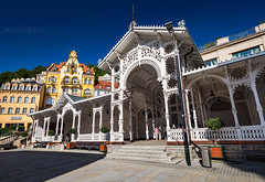 _MG_2578_web - The Market Colonnade in KV (AlexDROP) Tags: 2017 karlovyvary carlsbad czechrepublic travel architecture color city wideangle urban daytime circpl spa resort scape canon6d ef16354lis historicalplace best iconic famous mustsee picturesque postcard europe