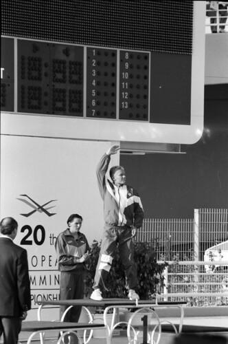 385 Swimming EM 1991 Athens