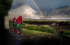 Afghanistan, Wakhan Corridor (silvia.alessi) Tags: rain rainbow adventure people light montagna mountain pamir asia afghanistan wakhancorridor ngc