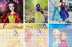 Disney Store calendar 2018 (Lindi Dragon) Tags: doll disney disneyprincess disneystore dolls calendar cinderella ariel elena avalor rapunzel moana mulan jasmine pocahontas merida beauty belle brave snow white frozen elza anna